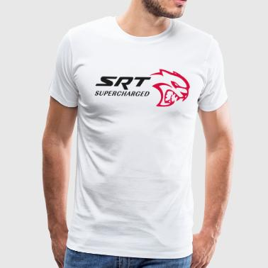 SRT HELLCAT SUPERCHARGED - Men's Premium T-Shirt