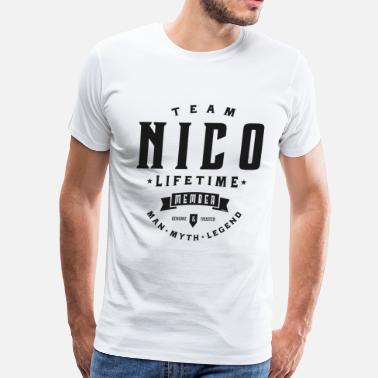 Nico Team Nico - Men's Premium T-Shirt