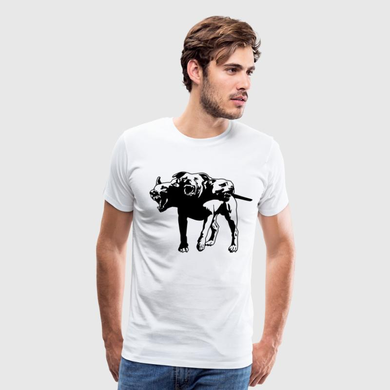 Cerberus HD Design - Men's Premium T-Shirt