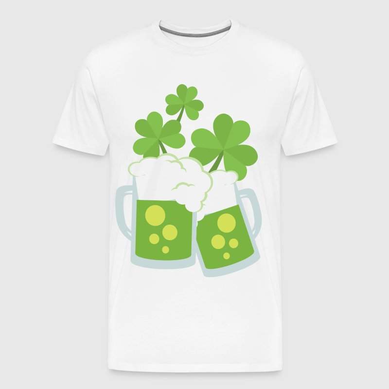 SHAMROCK BEER - Men's Premium T-Shirt