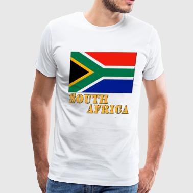 Nelson Mandela South Africa - Men's Premium T-Shirt