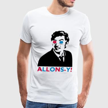 Tenth Doctor Allons-y! - Men's Premium T-Shirt