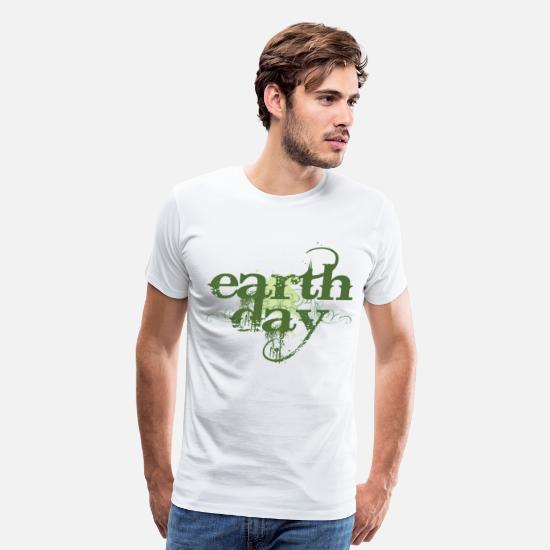 Earth Day T-Shirts - Earth Day - Men's Premium T-Shirt white