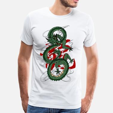 Shenlong Dragon - Men's Premium T-Shirt