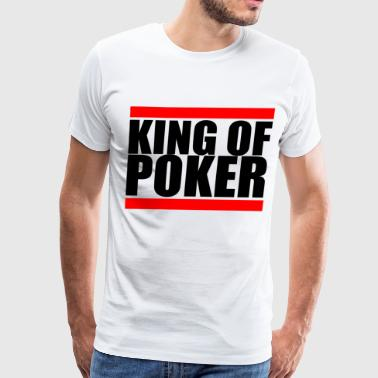 Full House Cards King of Poker Player Slot Casino Cool Fun Gift - Men's Premium T-Shirt