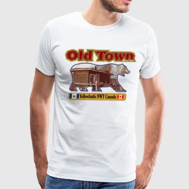 OldTown1.png - Men's Premium T-Shirt