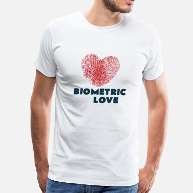 Biometrics Biometric Love - Men's Premium T-Shirt