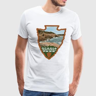 Acadia National Park Maine Acadia National Park Arrowhead - Men's Premium T-Shirt