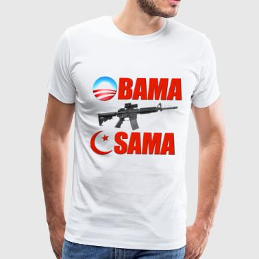 Obama Killed Osama - Men's Premium T-Shirt