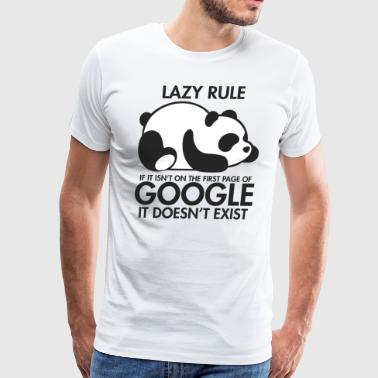 Lazy Panda - Men's Premium T-Shirt