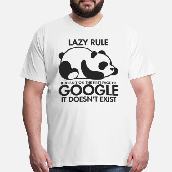 2b354121dbf2 Lazy Panda Men's Premium T-Shirt | Spreadshirt