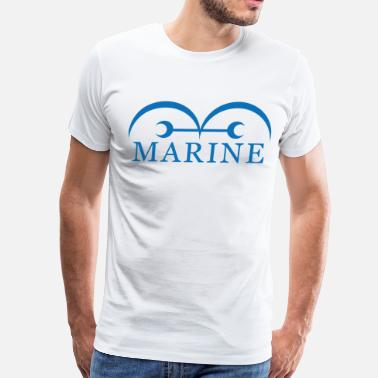 Marine One Piece marine - Men's Premium T-Shirt