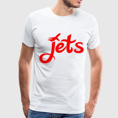 Jets - Men's Premium T-Shirt