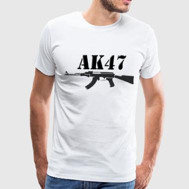 ak47 black - Men's Premium T-Shirt