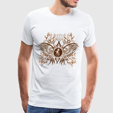 Horse and wings - Men's Premium T-Shirt