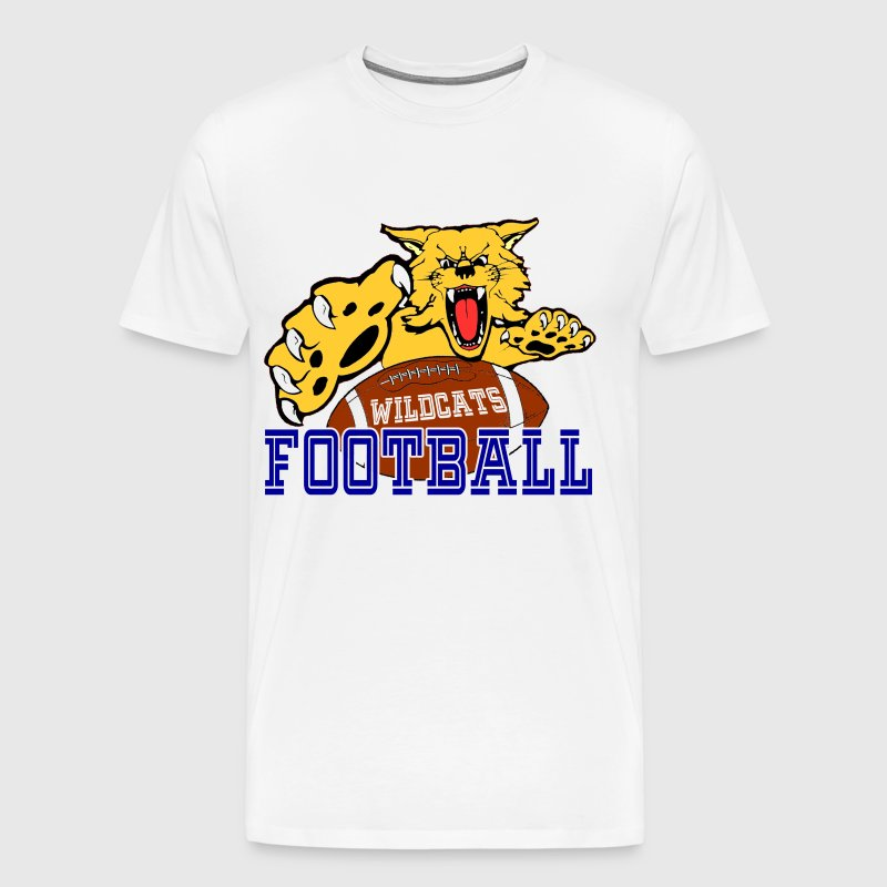 CENTRAL MOUNTAIN HIGH SCHOOL  WILDCATS FOOTBALL - Men's Premium T-Shirt