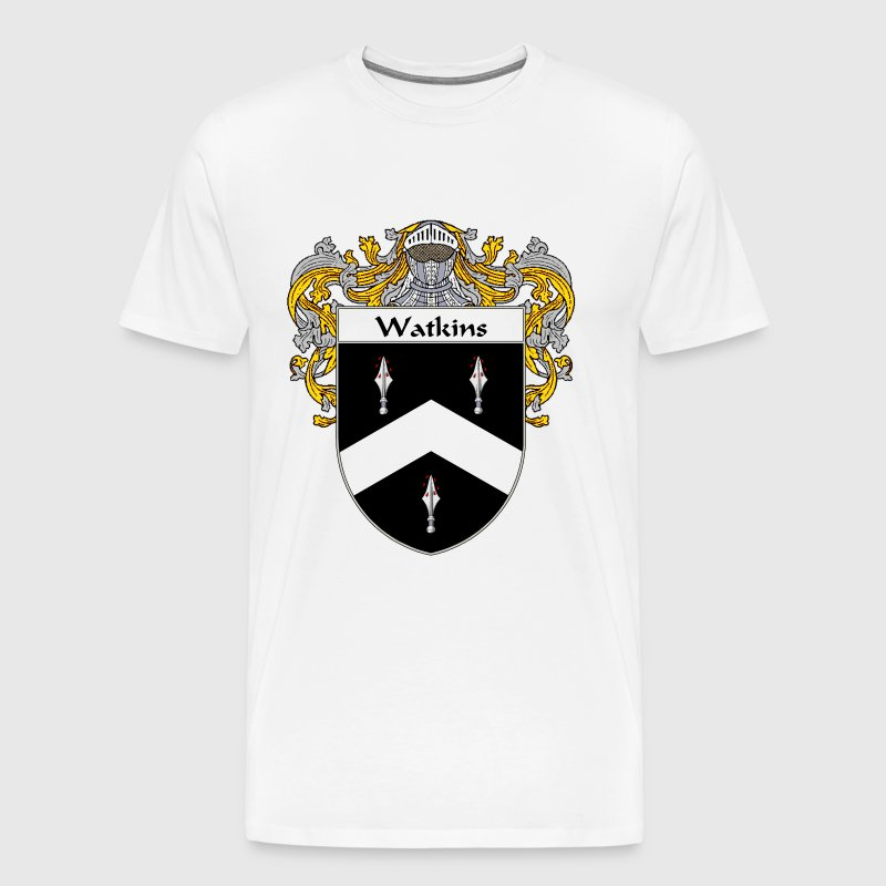 watkins_coat_of_arms_mantled - Men's Premium T-Shirt