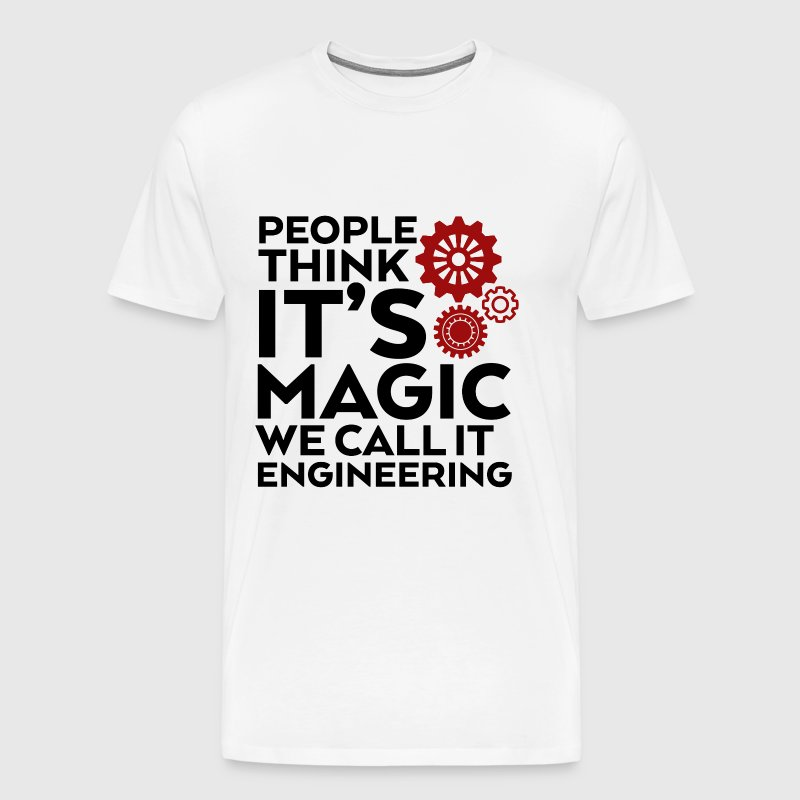 Funny Engineer Quote We Call It Engineering - Men's Premium T-Shirt
