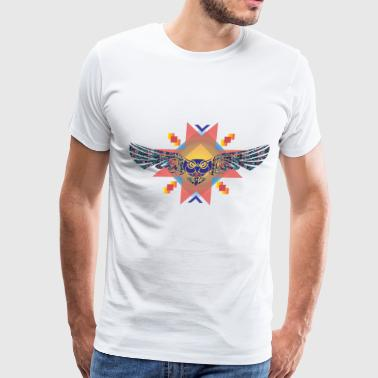 Art Owl - Men's Premium T-Shirt