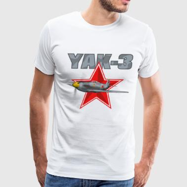 Yak Yak-3 - Men's Premium T-Shirt