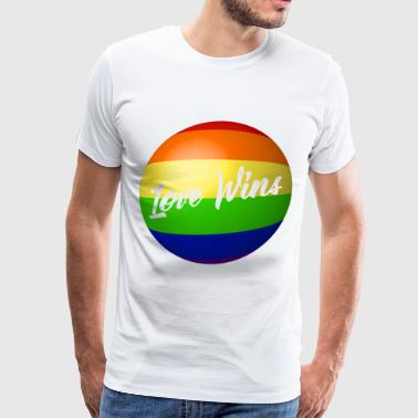 Love Wins - Men's Premium T-Shirt