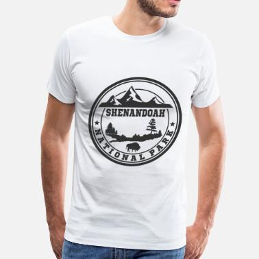 Alt Park Service SHENANDOAH NATIONAL PARK,SHENANDOAH,NATIONAL PARK - Men's Premium T-Shirt