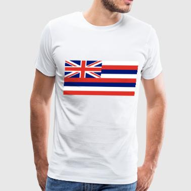 State Of Hawaii Flag Hawaii State Flag - Men's Premium T-Shirt