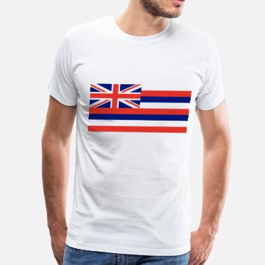 State Flag Hawaii State Flag - Men's Premium T-Shirt