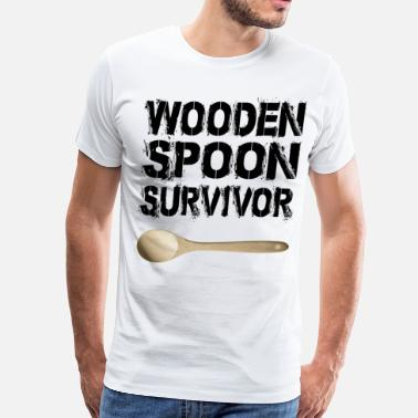 Spoon Nerd wooden spoon - Men's Premium T-Shirt