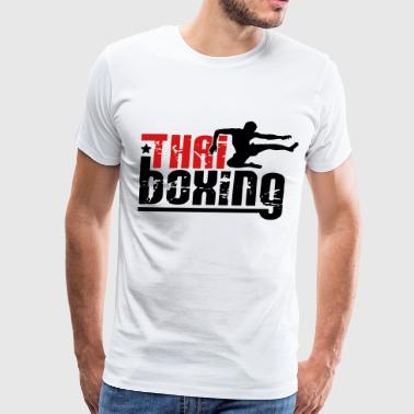 thai boxing - Men's Premium T-Shirt