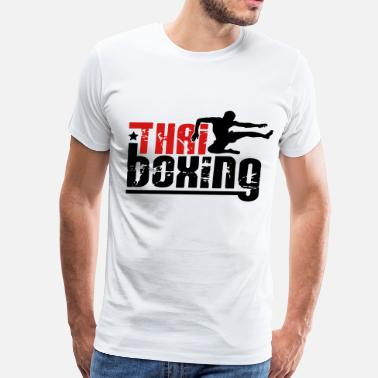 Thai Boxing thai boxing - Men's Premium T-Shirt