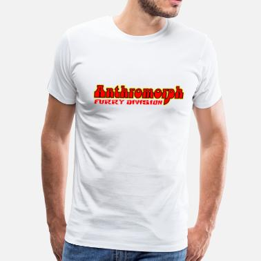 Zoophilia Anthromorph Furry Division Furries - Men's Premium T-Shirt