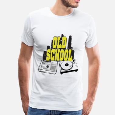 Old School Graffiti Old School - Men's Premium T-Shirt