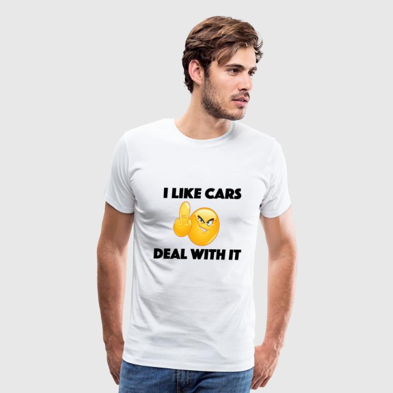 I like Cars  - Men's Premium T-Shirt