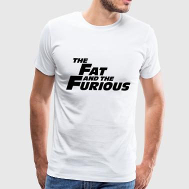 The Fat and the Furious - Men's Premium T-Shirt