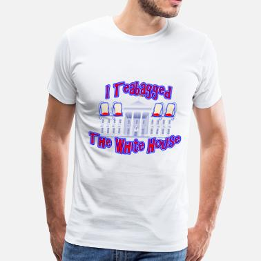 Teabaggers I Teabagged The White House Tea Party - Men's Premium T-Shirt
