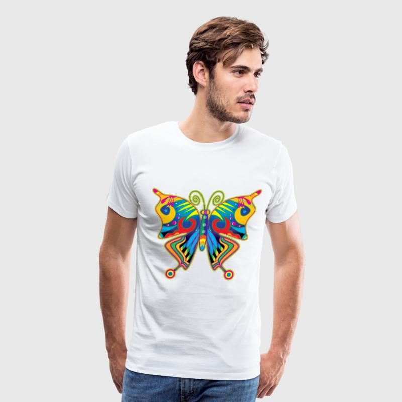 Hippy Butterfly - Men's Premium T-Shirt
