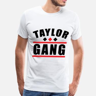 Taylor Clothing Taylor Gang - Men's Premium T-Shirt