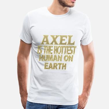 Axel Axel - Men's Premium T-Shirt