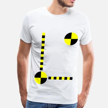Crash Test Dummy Crash Test Dummy with your own text - Men's Premium T-Shirt