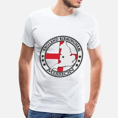 Mission England Birmingham LDS Mission - Men's Premium T-Shirt