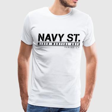 navy st 2 - Men's Premium T-Shirt