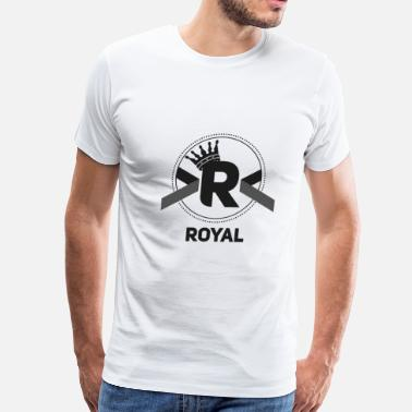 Letter Royal Royal Tee's - Men's Premium T-Shirt