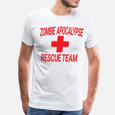 Team Zombie Zombie Apocalypse Rescue Team - Men's Premium T-Shirt