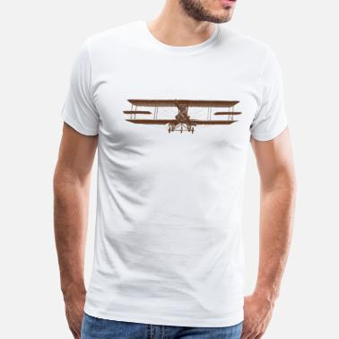 Old Airplane airplane - Men's Premium T-Shirt
