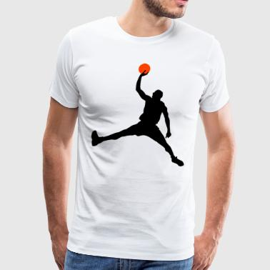 Slam Dunk HD Design - Men's Premium T-Shirt