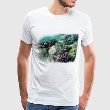 Reef coral reef - Men's Premium T-Shirt