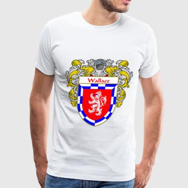 Wallace wallace_coat_of_arms_mantled - Men's Premium T-Shirt