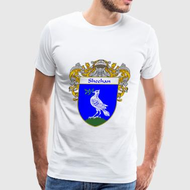 sheehan_coat_of_arms_mantled - Men's Premium T-Shirt