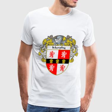 murphy_coat_of_arms_mantled - Men's Premium T-Shirt